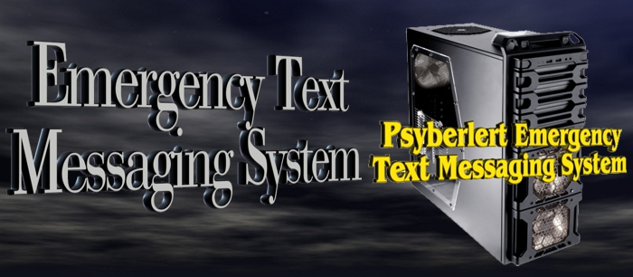 Emergency Text Messaging Systems by Psychsoftpc