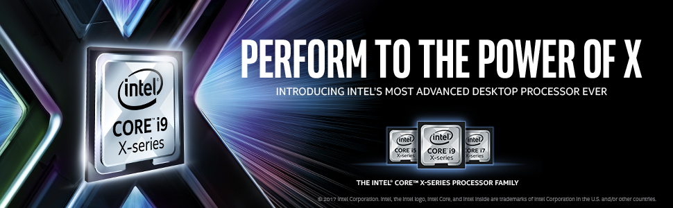 Intel Core X Series Gaming Computers from Psychsoftpc Game to the Power of X