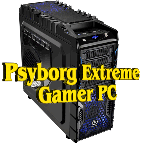 psyborg extreme gamer pc gaming computer