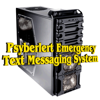 psyberlert emergency text messaging system