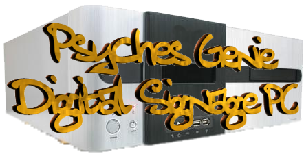 psyches genie digital signage pc