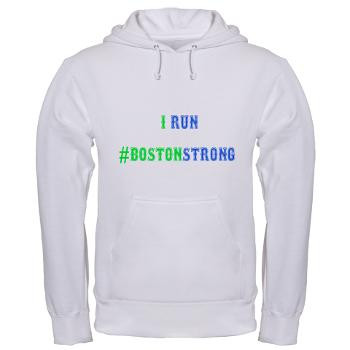 Run #BOSTONSTRONG Hooded Sweat